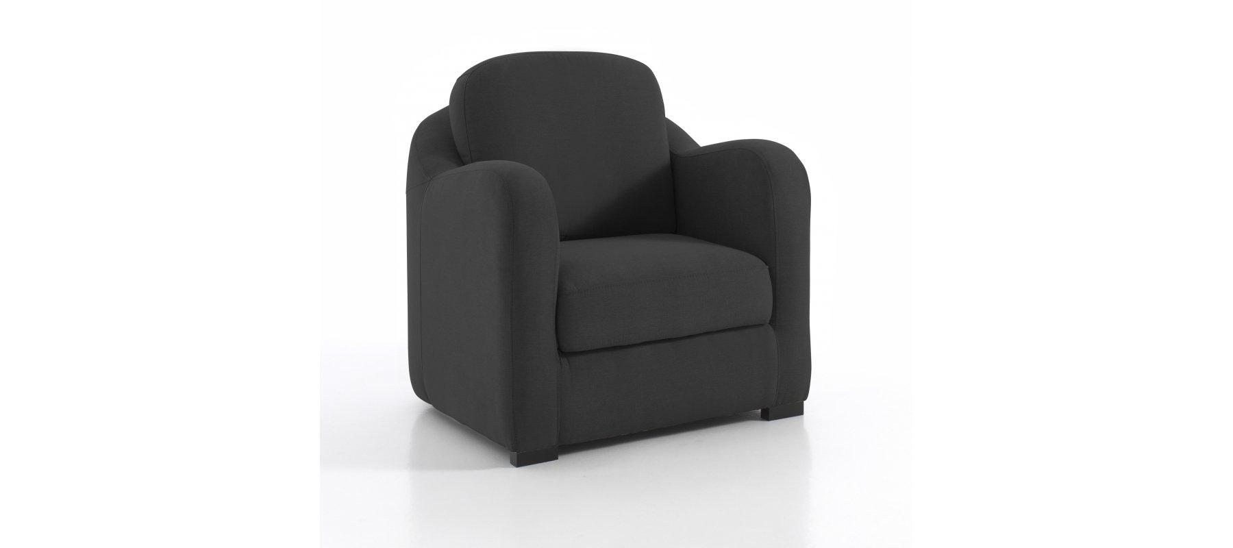 petit fauteuil ibiza design moelleux gain de place 10 coloris. Black Bedroom Furniture Sets. Home Design Ideas