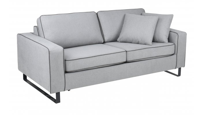 Canapé convertible DJANGO - Largeur 198 cm - Couchage 140 cm