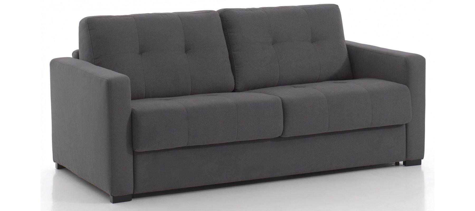 canap convertible 2 places baron 1069 avec couchage 120 cm rapido. Black Bedroom Furniture Sets. Home Design Ideas