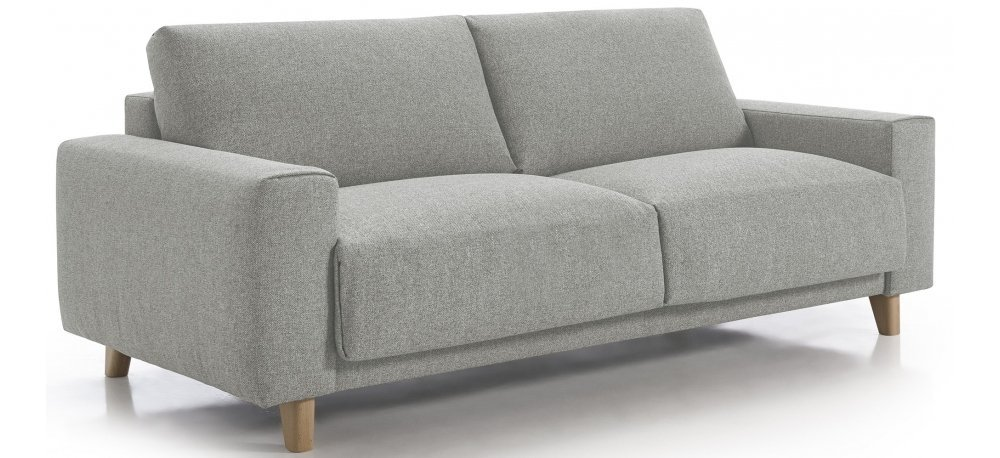Canapé convertible 3 places CALIMA - Largeur 204 cm - Couchage 140 cm