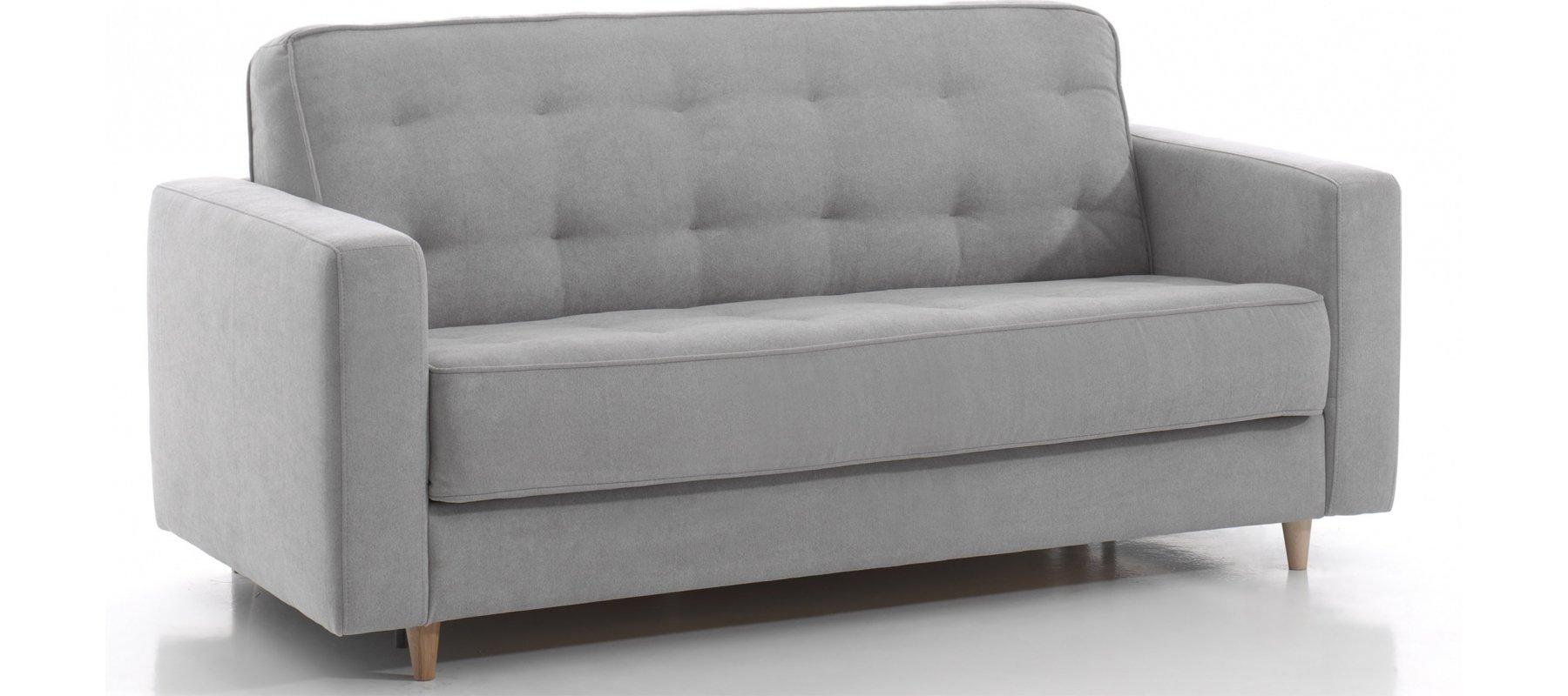 canap lit scandinave rapido 2 places avec couchage confortable 120. Black Bedroom Furniture Sets. Home Design Ideas
