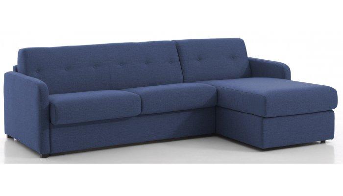Canapé d'angle convertible BOLOGNE - Largeur 230 cm - Couchage 120 cm