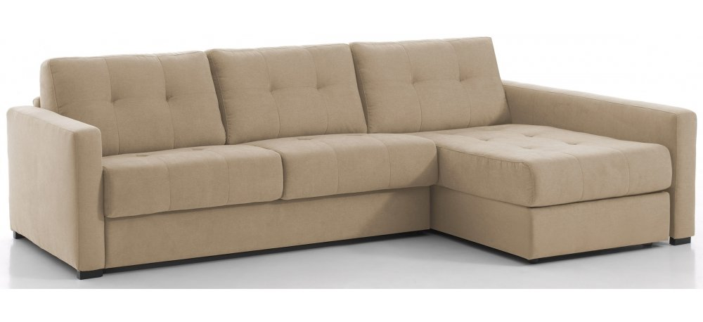RENNES - Largeur 238 cm - Canapé d'angle convertible Couchage 120 cm