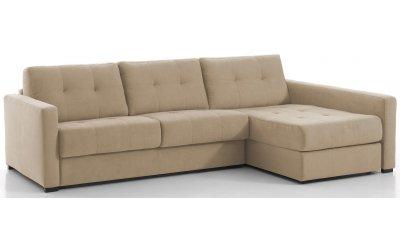 Canapé d'angle convertible RENNES - Largeur 288 cm - Couchage 160 cm