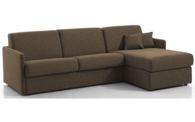 Canapé d'angle convertible MONTPELLIER - Largeur 224 cm - Couchage 120 cm