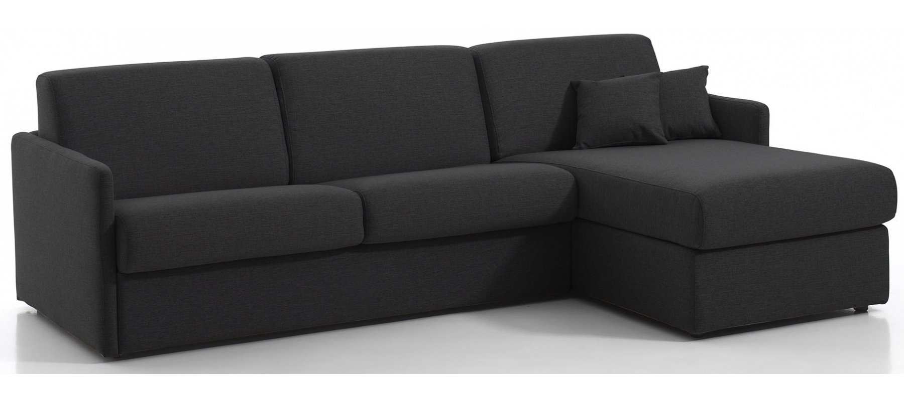 canap convertible d 39 angle montpellier couchage 120 cm avec rapido. Black Bedroom Furniture Sets. Home Design Ideas