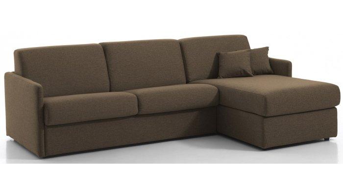 Canapé d'angle convertible MONTPELLIER - Largeur 254 cm - Couchage 140 cm