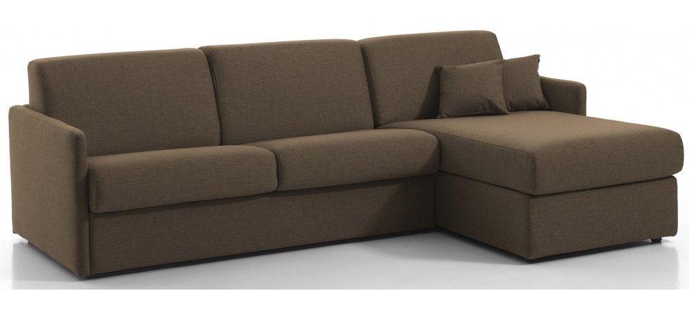 Canapé d'angle convertible MONTPELLIER - Largeur 274 cm - Couchage 160 cm