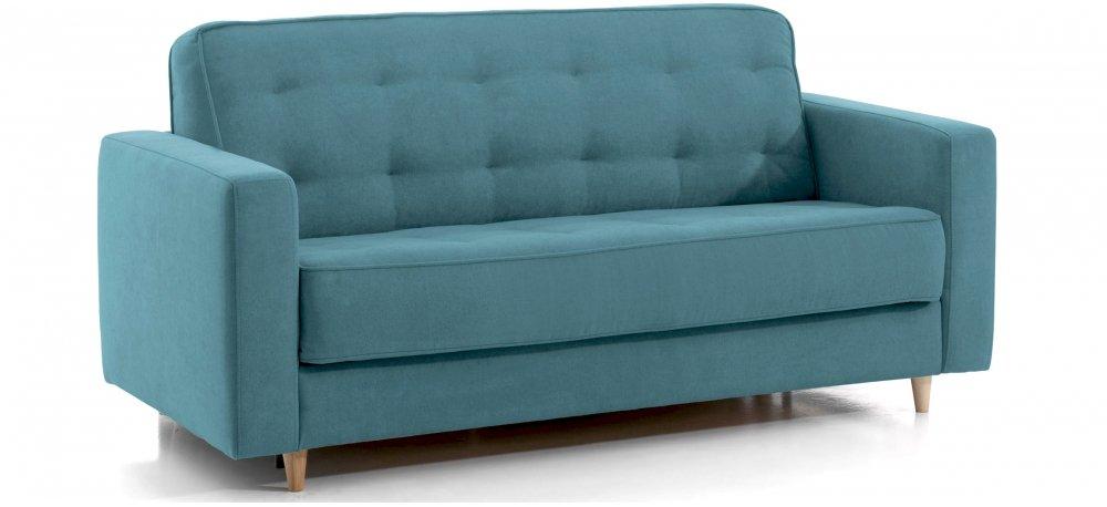 canapé lit 140cm rapido - 3 places - couchage quotidien monica
