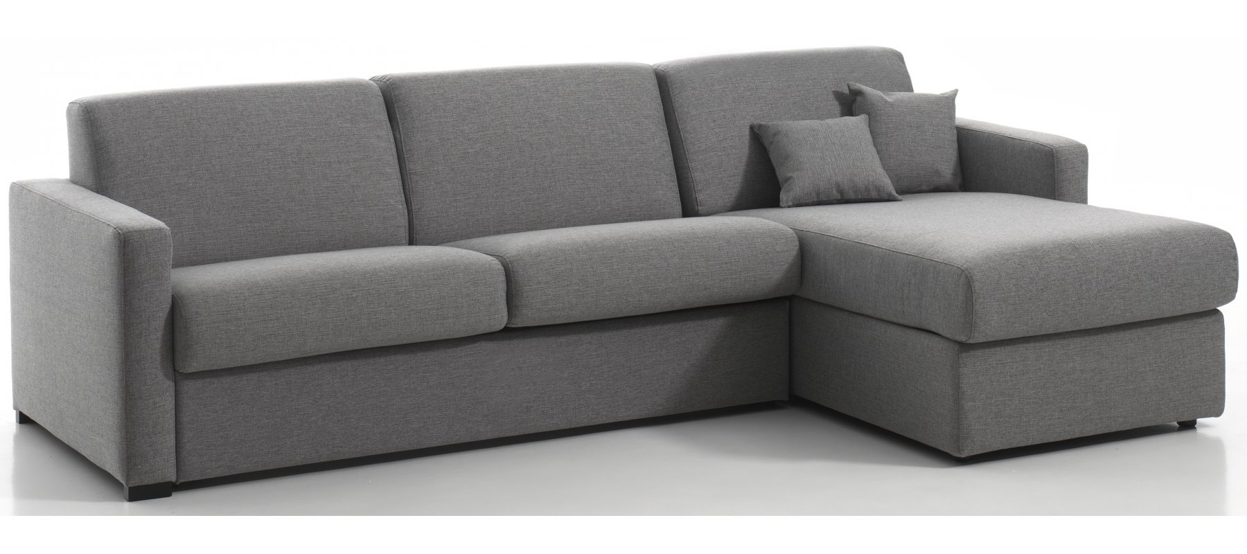 MANOSQUE - Largeur 268 cm - Canapé d'angle convertible Couchage 140 cm
