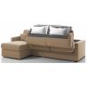 MANOSQUE - Largeur 268 cm - Canapé d'angle convertible - Méridienne réversible - Couchage 140 cm