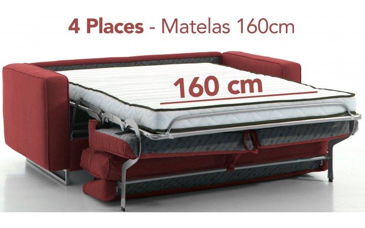 Convertibles 4 places - 160 cm