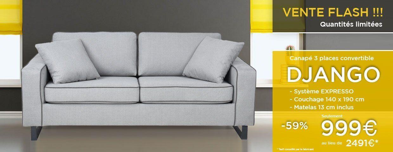 canap convertible pas cher convertible center sp cialiste du rapido paris convertible center. Black Bedroom Furniture Sets. Home Design Ideas